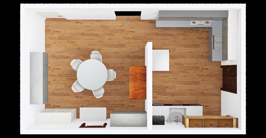 v2_nha bep Interior Design Render