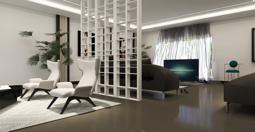 ModernHome-SpaceAndTimeContinuum Interior Design Render