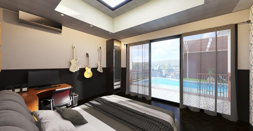 All-Around House Interior Design Render