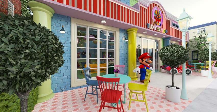 """""""The TOY SHOP"""" Interior Design Render"""
