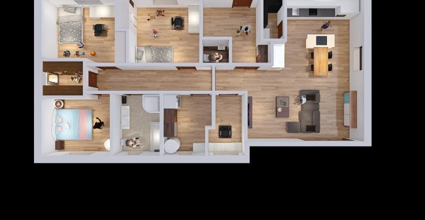Domecek - Kata Interior Design Render