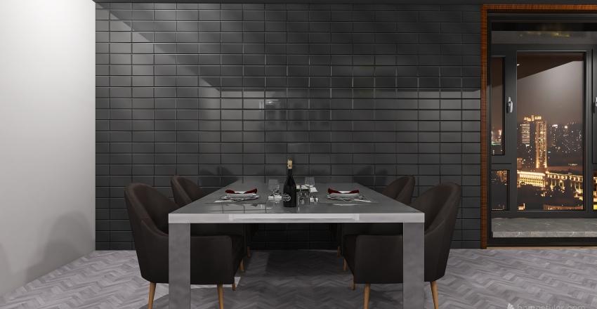 Cena di Capodanno Interior Design Render