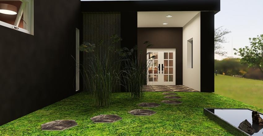 two bedroom Interior Design Render