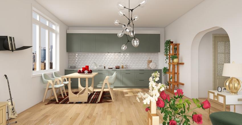 Greenandisaac123$ Interior Design Render