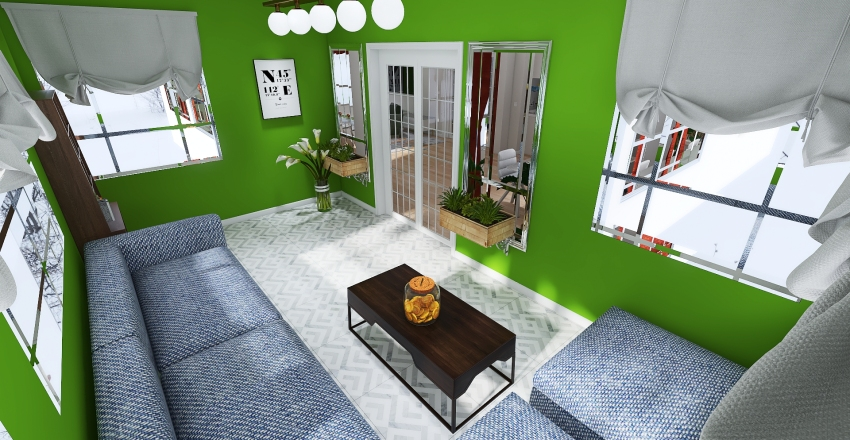 Чистовая работа Interior Design Render
