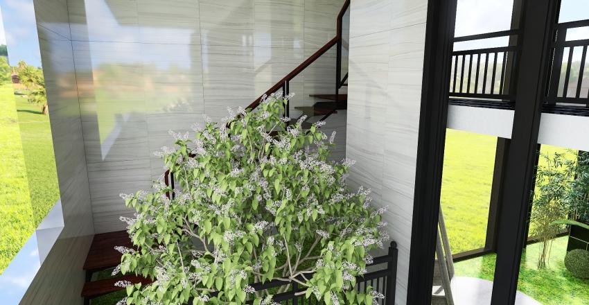 Relaxing Modern Greenhouse Interior Design Render