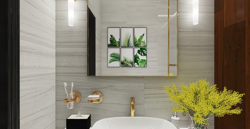 A Tropical Villa II original - not all images Interior Design Render