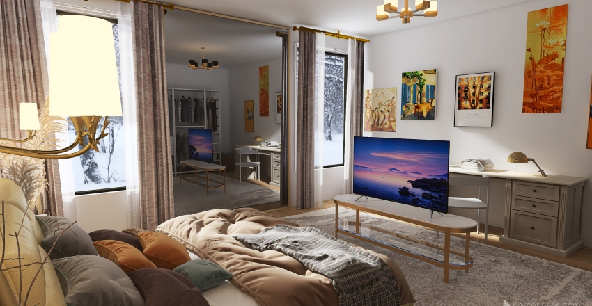 100 Interior Design Render