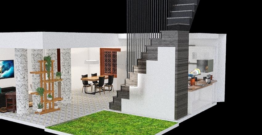 GroundFloorPlan Interior Design Render
