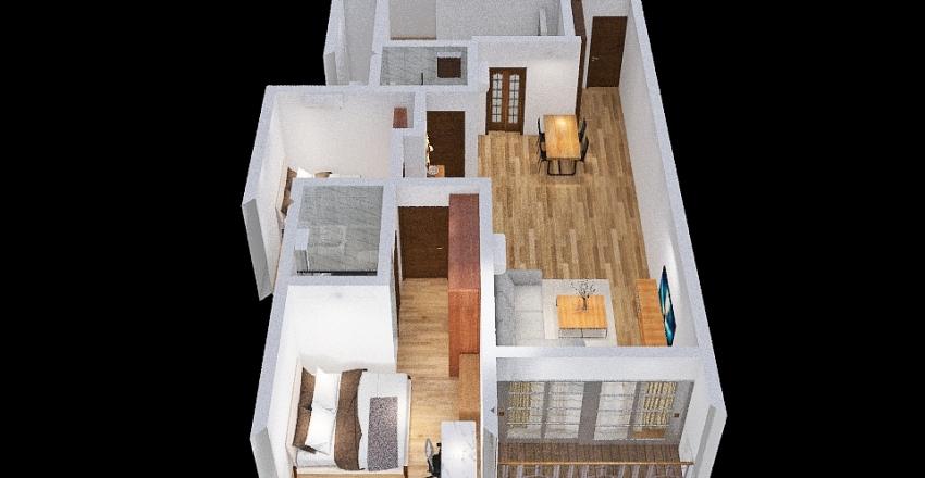 Home completed Interior Design Render