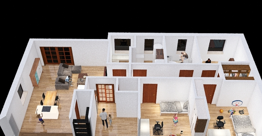 Copy of Domecek - Kata_02 Interior Design Render