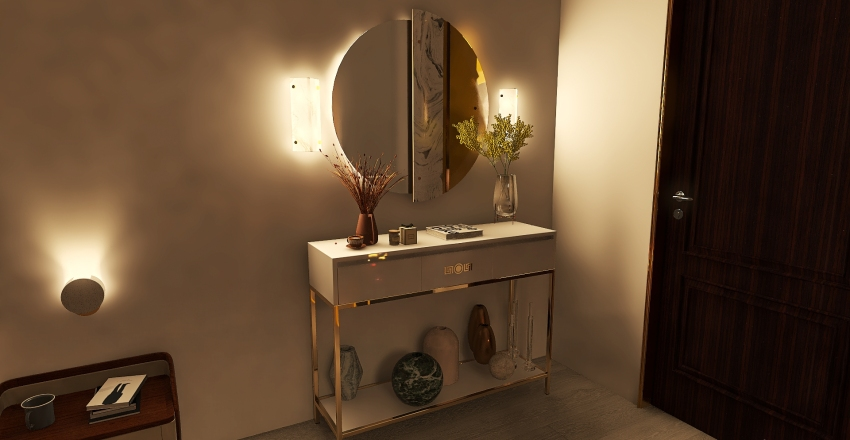 pantone room Interior Design Render
