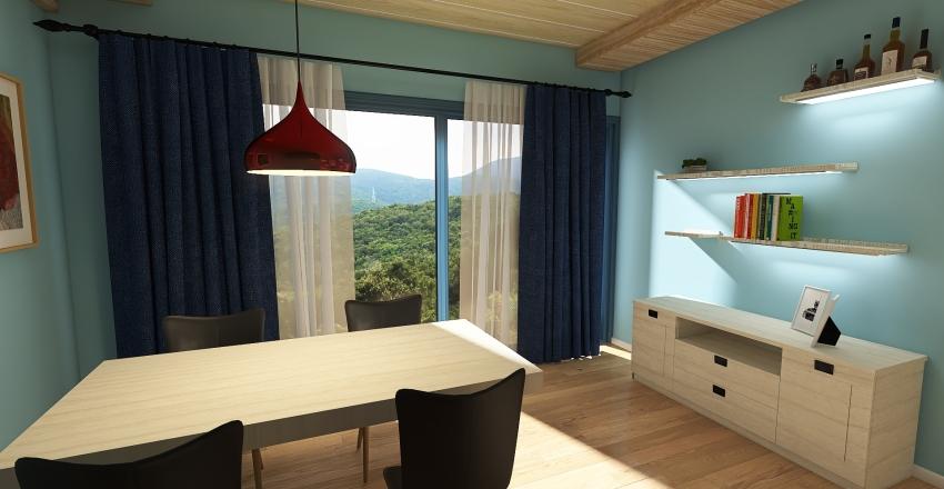 Monolocali Interior Design Render