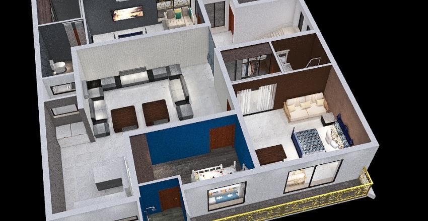 156 First Floor - 3 Interior Design Render