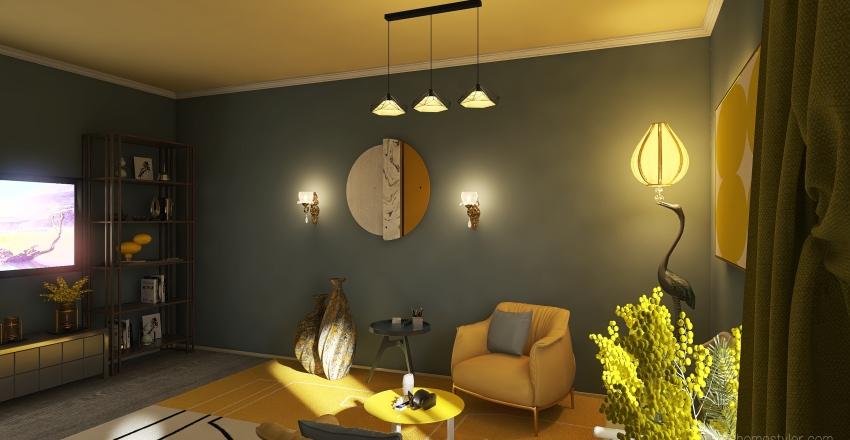 MY PANTONE2021 Interior Design Render
