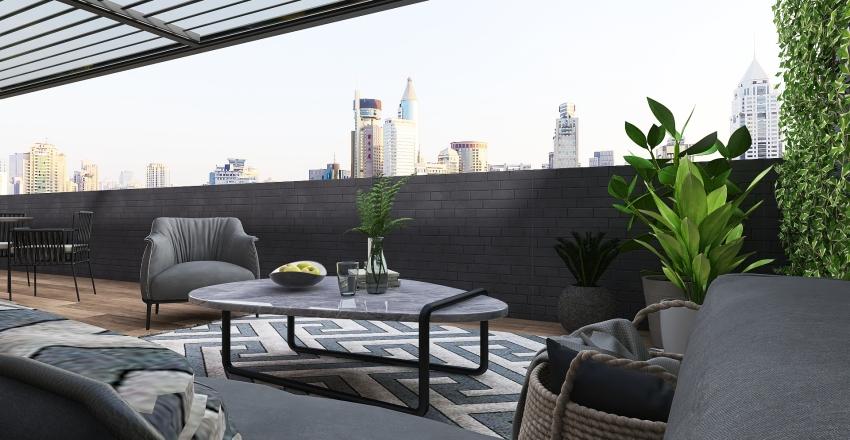 Apartment Astoria Interior Design Render