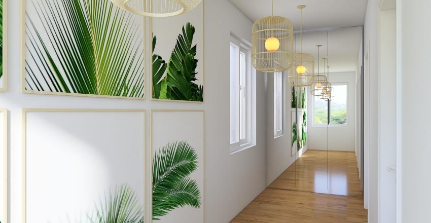 #3 Boho Interior Design Render