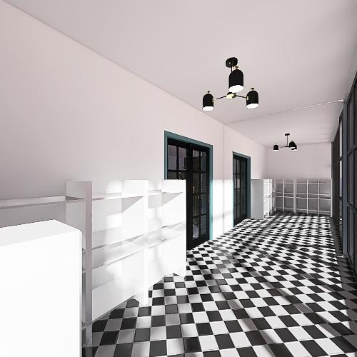 amazing dream room Interior Design Render