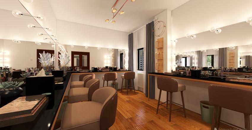 Makeup salon  Interior Design Render
