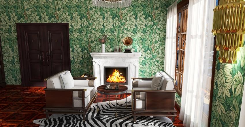 1920 Interior Design Render