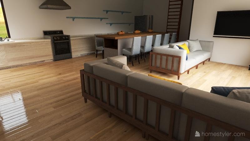 Manitoba House Interior Design Render