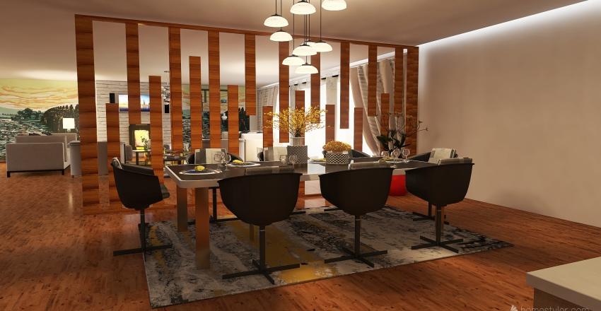 Wayside Cottage Interior Design Render