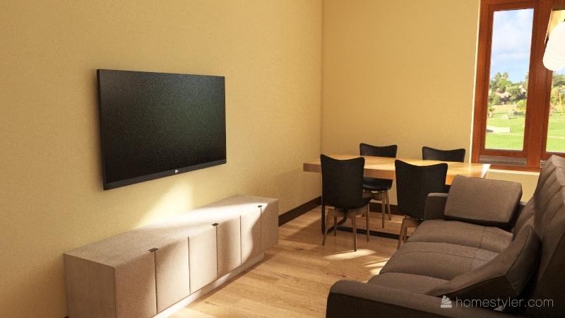 Casa Parco Aironi Interior Design Render