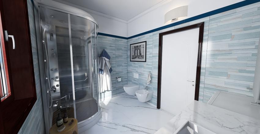One bedroom apartment Interior Design Render