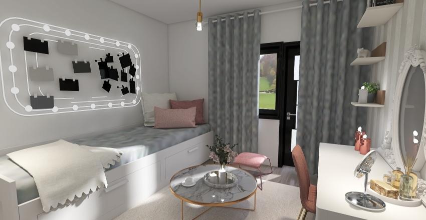 Pokój Oli Interior Design Render
