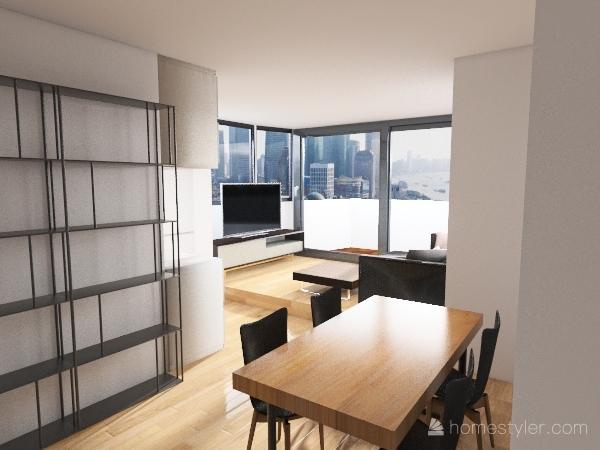 Super Ático Reforma V2 Interior Design Render