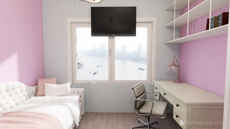 v2_pokój Interior Design Render