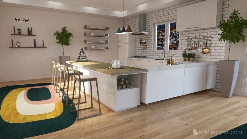 Casa cor Interior Design Render
