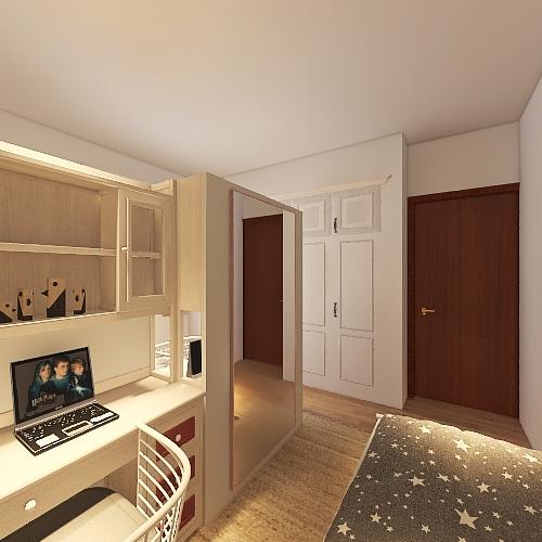 Habitación niños Interior Design Render