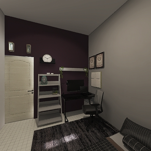 v2_My room Interior Design Render