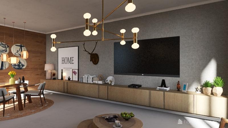   ESCANDINAVIA SPACE   Interior Design Render