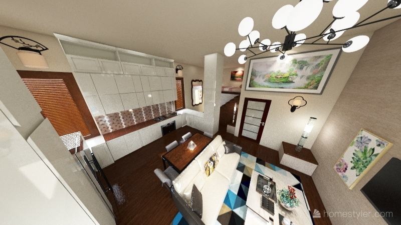 BigTiny Home Interior Design Render