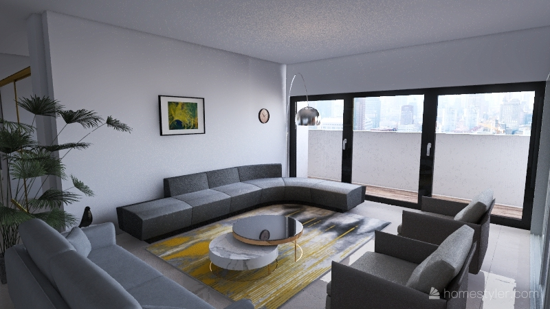 home new Interior Design Render