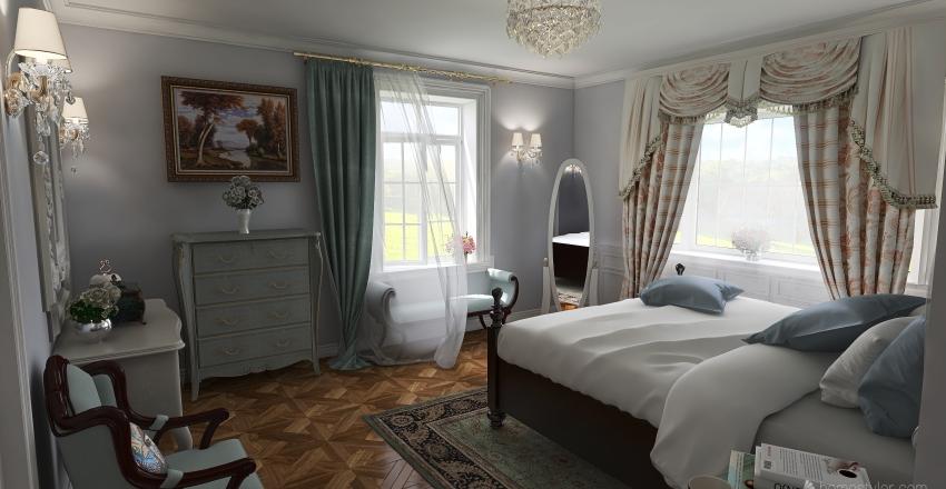 Pemberley's room Interior Design Render