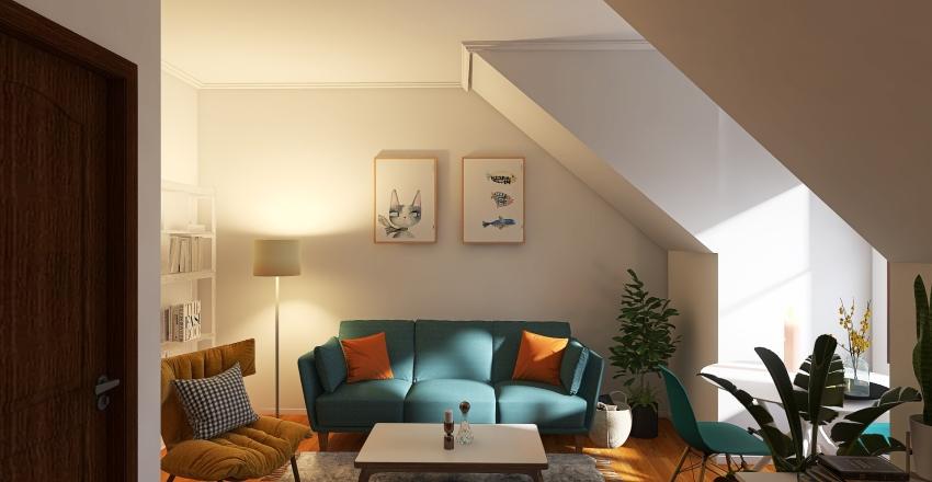Dundee Flat Interior Design Render
