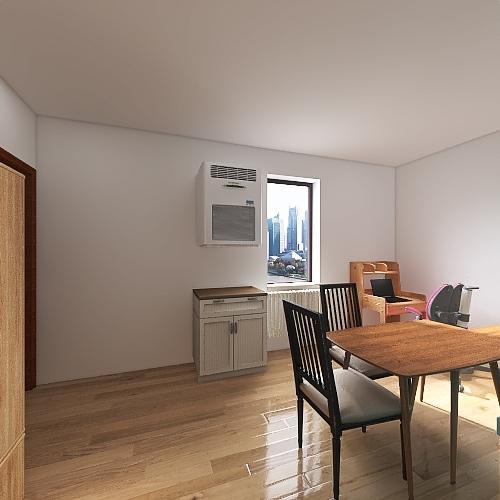 sucháč kuchyně new Interior Design Render