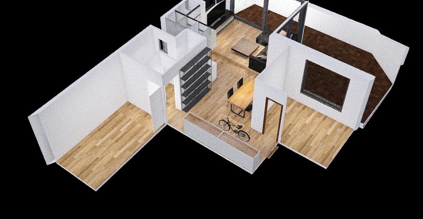 Copy of Super Ático Reforma COCINA Interior Design Render