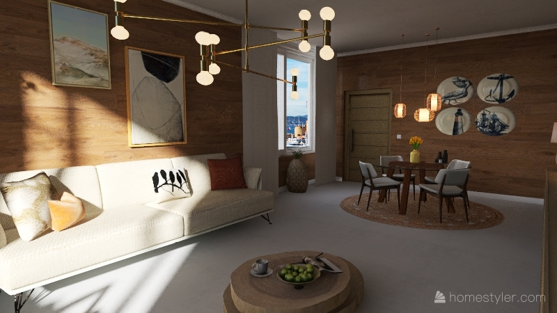 ||ESCANDINAVIA SPACE|| Interior Design Render