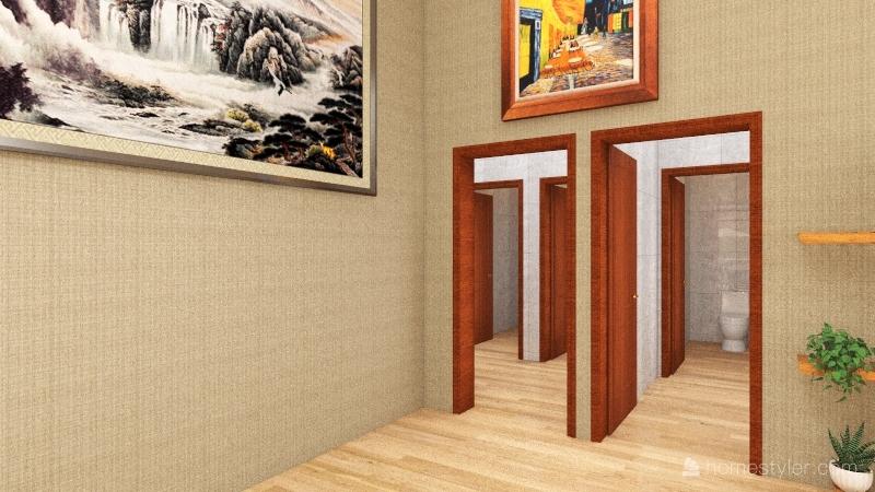 Queen restaurant bar music cafe Interior Design Render