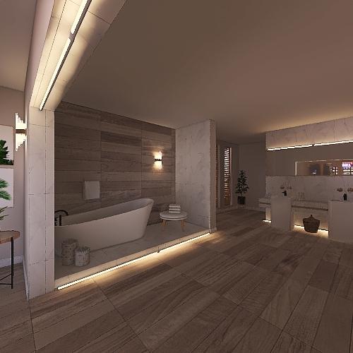 bathroom deisgn Interior Design Render