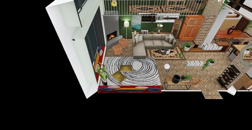 Villa giorgina Interior Design Render