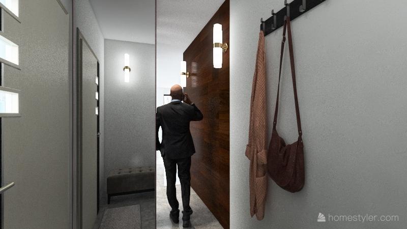 Планировка с мамой 2 Interior Design Render