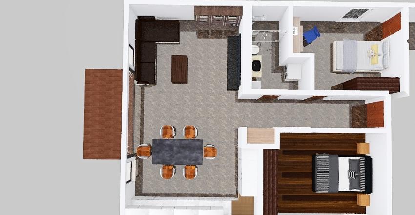 Muehle Neftenbach Tisch Quer Interior Design Render