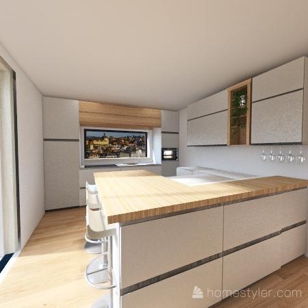 Cucina Bergamin 9 gennaio Interior Design Render