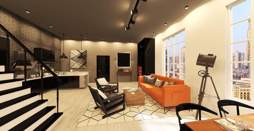 Loft_1stJanuary Interior Design Render