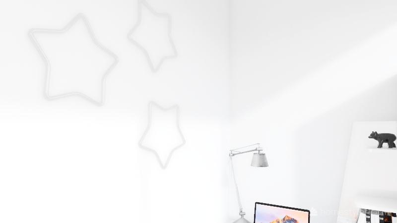 Mini home Interior Design Render